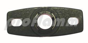 Befestigungsflansch Fotozelle 9 mm