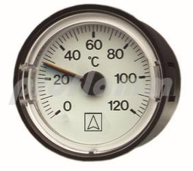 Afriso Thermometer mit Kapillarleitung ø 40
