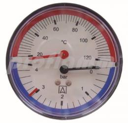 Afriso Thermo-Manometer TM 80 D211