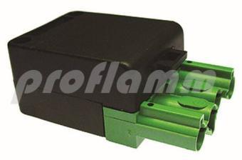 Brennerkupplung 4-polig